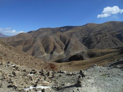 China dry asia altitude tibet.