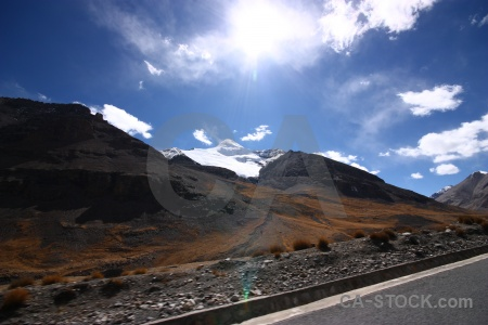 China east asia cloud tibet arid.
