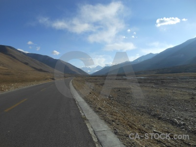 China friendship highway himalayan cloud road.