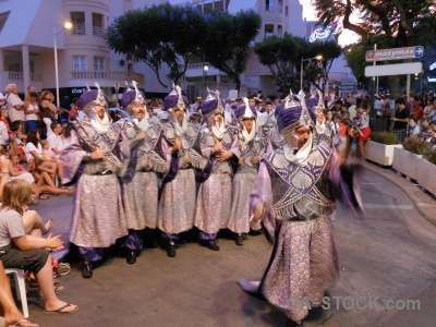 Christian person javea building costume.