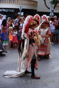 Christian person moors javea costume.