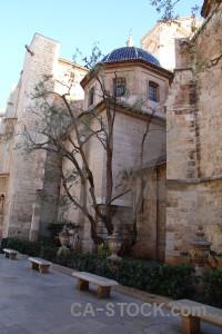 Church building spain valencia europe.