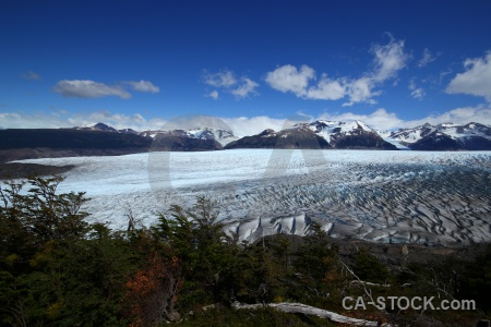 Circuit trek patagonia chile sky landscape.