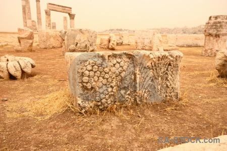 Citadel ruin sky ancient pillar.