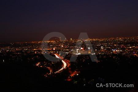 Cityscape black night.