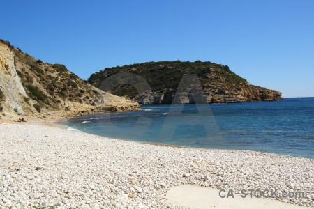 Cliff europe water sea spain.