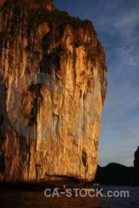 Cliff ko phi ley asia southeast island.
