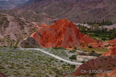 Cliff landscape purmamarca argentina tree.