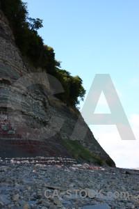 Cliff rock.