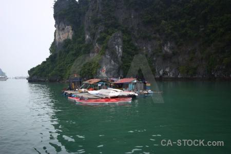 Cliff vehicle unesco canoe pontoon.