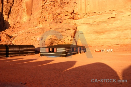 Cliff western asia middle east wadi rum desert.