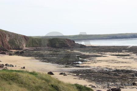 Cliff white landscape rock.