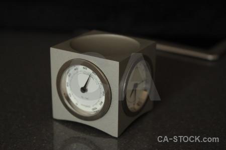 Clock black object.