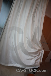 Cloth curtain object.