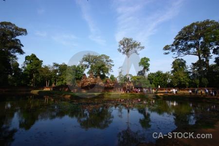 Cloud angkor khmer asia temple.