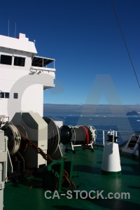 Cloud antarctic peninsula rope akademik ioffe bridge.