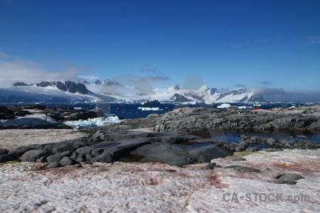 Cloud antarctic peninsula south pole ice water.
