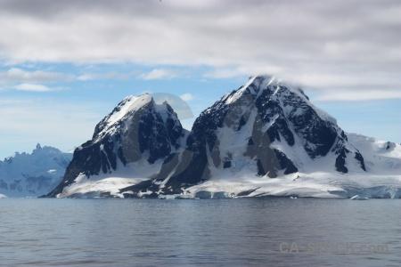 Cloud antarctica antarctic peninsula mountain cruise.