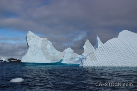 Cloud antarctica cruise ice sea sky.