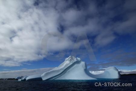 Cloud antarctica sea cruise wilhelm archipelago.