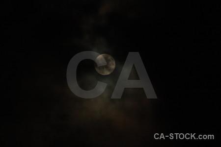 Cloud black moon.