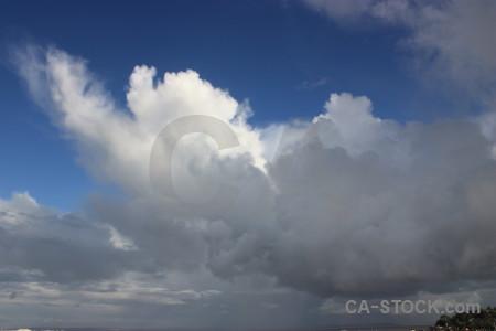 Cloud blue sky.