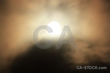 Cloud brown moon.