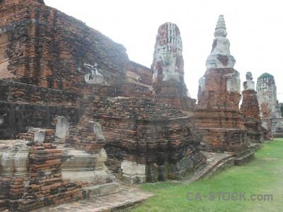 Cloud buddhist buddhism ayutthaya stupa.