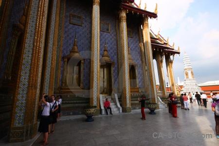 Cloud buddhist gold thailand bangkok.