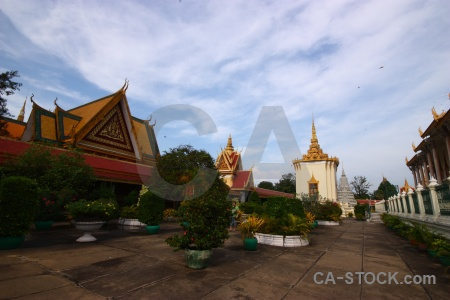 Cloud cambodia palace sky phnom penh.