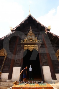 Cloud chiang mai ornate southeast asia wat phantao.
