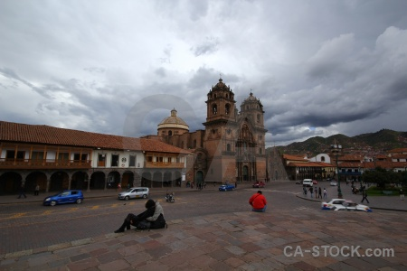 Cloud cuzco building cusco unesco.