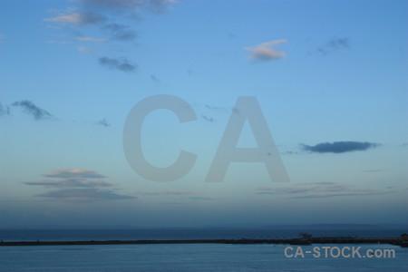 Cloud cyan blue sky.