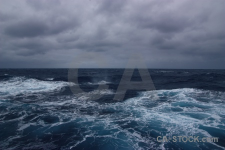 Cloud day 3 sky wake drake passage.