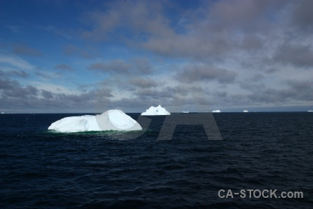 Cloud day 5 water iceberg antarctic peninsula.