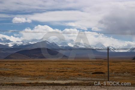 Cloud dry snowcap asia himalayan.