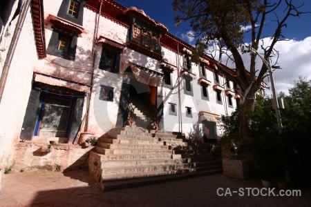 Cloud east asia gambo utse lhasa drepung monastery.