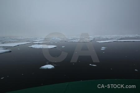 Cloud fog adelaide island day 6 ice.