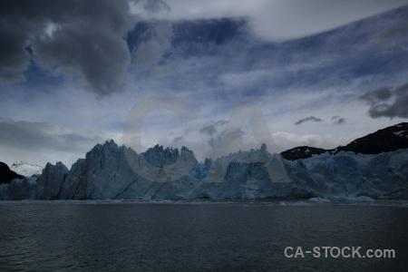 Cloud glacier patagonia perito moreno argentina.
