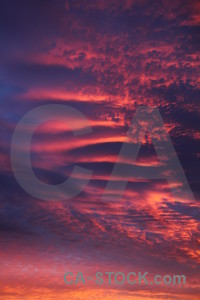 Cloud javea europe sunrise spain.