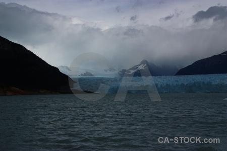 Cloud lake argentino sky glacier patagonia.