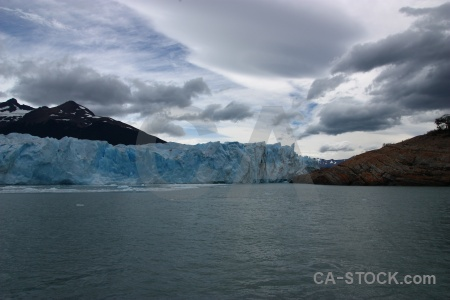 Cloud lake glacier patagonia argentina.