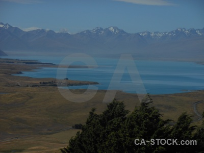Cloud lake south island water tekapo.