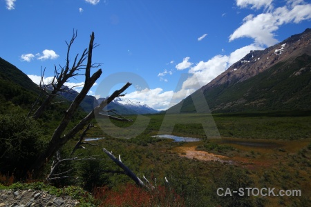 Cloud landscape argentina mountain patagonia.