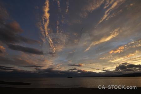 Cloud patagonia sky sea chile.
