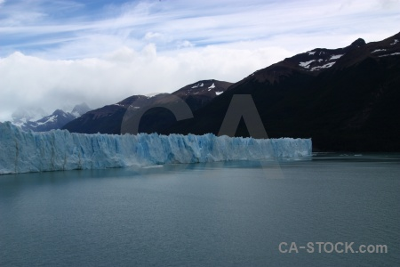 Cloud perito moreno mountain sky patagonia.