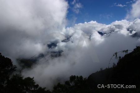 Cloud peru sky andes inca trail.