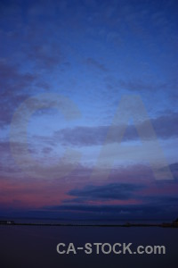 Cloud purple sky blue.