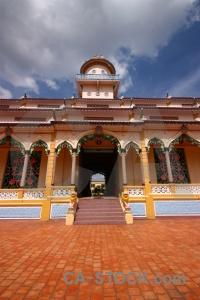 Cloud religion temple cao dai toa thanh tay ninh.