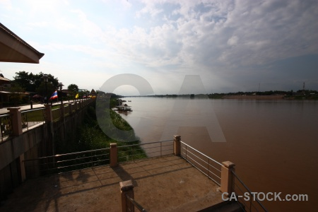 Cloud river water thailand mekong.